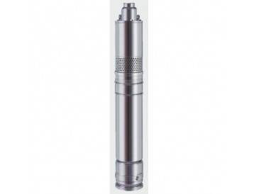 Глубинный погружной насос EUROAQUA 4 SKM 100 + конденсатор , фланец нержавеющая сталь