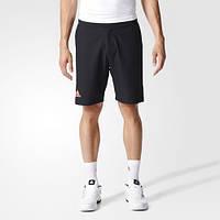 Шорты-бермуды для тенниса adidas Barricade Black / Flared AX8101