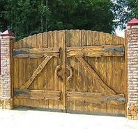 """Ворота """"Под старину"""""""