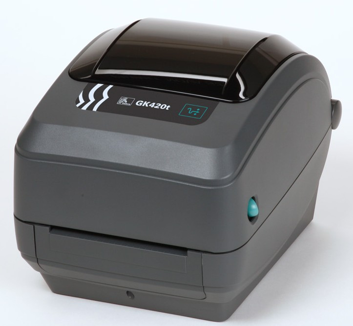 Термотрансферный принтер этикеток Zebra GK 420t (GK42-102220-000), фото 1