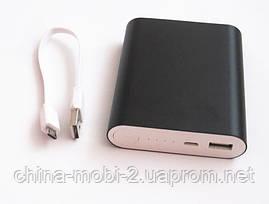 Универсальная мобильная батарея  в стиле mi Xiaomi mobile power bank  15000 mAh, black, фото 3