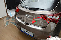Накладка на задний бампер Hyundai i30 с 2012 г.в.