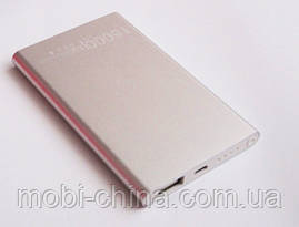 Універсальна мобільна батарея в стилі Xiaomi mi mobile power bank 16000 mAh, silver, фото 2