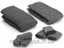 """Стальная вата (шерсть) """"0"""", Steel Wool, 1 метр, 50-60 грамм"""