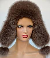 "Женская меховая шапка ""Ушанка"""