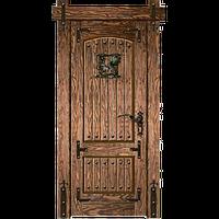 Деревянная дверь - РЕТРО