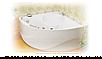 Ванна Тритон Эрика 1400х1400х640 (ванна+каркас+лиц.экран+слив-перелив), фото 3