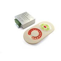 Диммер для светодиодной ленты 12А RF White (Touch)