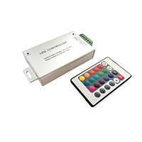 Контроллер RGB для светодиодной ленты 24А IR 24 кнопки №64