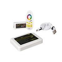 Контроллер RGBW WI-FI для светодиодной ленты 24А RF White (Touch)
