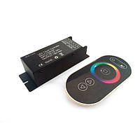 Контроллер RGB для светодиодной ленты 18А RF Black 2 (Touch) №61