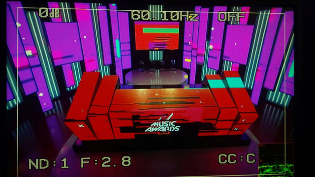 ТВ студия М1. Интерактивный стол. 9