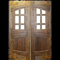 Двустворчатая дверь под старину №4