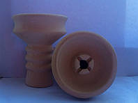 Чаша для кальяна - Глиняная, наружная под калауд. v.2