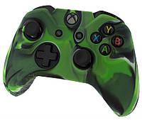 Силиконовый чехол Camo Green для Джойстика Xbox One