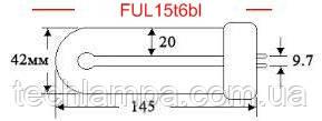 Лампа инсектицидная FUL15T6BL
