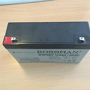 Аккумулятор для детских электромобилей Bossman-Profi 3FM10, фото 2