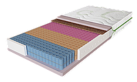 Матрас Fusion Duo / Фьюжин Дуо 1200х1900х220мм ЕММ Evolution 5 зон мемори независимые пружины 120кг