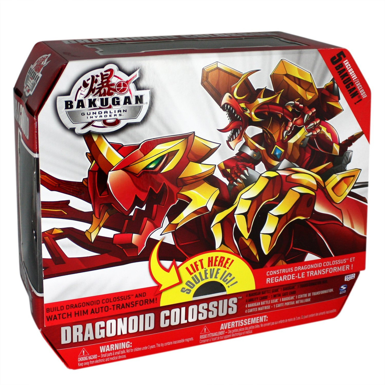 Игрушка Драгоноид Колоссус, Бакуган - Dragonoid Colossus, Bakugan, Spin Master