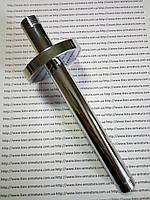 Крепление потолочное для верхней лейки (тропический душ), латунь, хром, 200 мм.