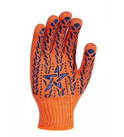 Перчатки DOLONI Звезда оранж.(564)