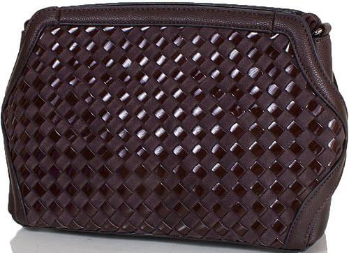 Женская коричневая сумочка из искусственной кожи  ANNA&LI (АННА И ЛИ) TU1229-2-brown (коричневый)