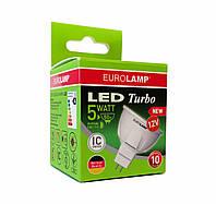 EUROLAMP LED Лампа TURBO NEW MR16 5W GU5.3 4000K 12V