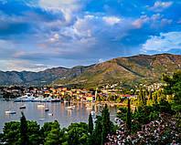 Фотообои Городок у озера
