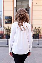 Стильная рубашка свободного кроя - идеальный вариант для любого типа фигуры, фото 3
