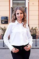 Стильная рубашка свободного кроя - идеальный вариант для любого типа фигуры, фото 2