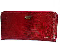 Кошелек/клатч женский модный функциональный 100% кожаный