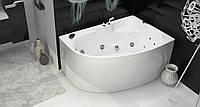 Ванна Тритон Николь NEW 1600х1000х630 левая (ванна+каркас+лиц. экран + слив-перелив)