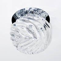 Точечный светильник Feron JD103 G9 Прозрачный/Хром