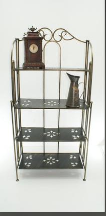 Кованя раскладная этажерка на 4 полки Э4, фото 2