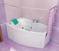 Ванна Тритон  Лайма 1600х950х670 правая (ванна+каркас+лиц. экран + слив-перелив)