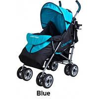 Коляска прогулочная Caretero Spacer blue