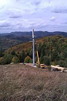 Установка СКО ВЛ-110кВ в горной местности и стесненных условиях.