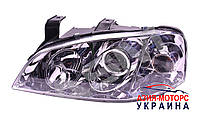 Фара передняя левая (рестайлинг 2011 линза) Chery Amulet A11 (Чери Амулет А11) A15-3772010BB