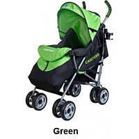 Коляска прогулочная Caretero Spacer green