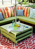 Пошив подушек на мебель из поддонов/палет