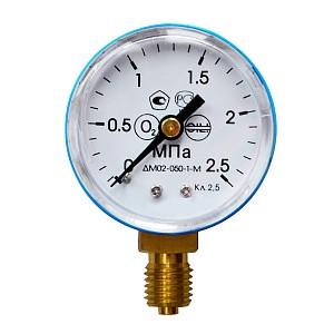 Манометр 0- 2,5 МПа О2 (кислород)