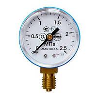 Манометр 0- 25 МПа О2 (кислород)