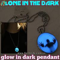 """Винтажное украшение - """"Alone in the Dark"""" - светится в темноте! , фото 1"""