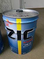 Полусинтетическое моторное масло ZIC X5000 10w-40 20л ― производства Корея