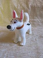 Мягкая игрушка собака Вольт ручная работа