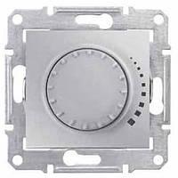 Светорегулятор пов-нажимн. алюминий Sedna SDN2200760 проходной емкостной Schneider Electric (Димер)