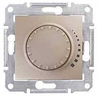 Светорегулятор пов-нажимн. титан Sedna SDN2200568 проходной индуктивн. Schneider Electric (Димер)