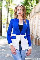 Превосходный пиджак, который идеально подойдет как к платью или классическим брюкам, так и к джинсам!