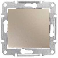 Кнопочный выключатель 1-Клавишн. титан Sedna SDN0700168 Schneider Electric