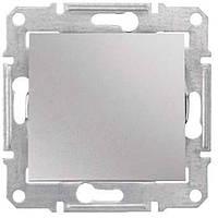 Кнопочный выключатель 1-Клавишн. алюминий Sedna SDN0700160 Schneider Electric
